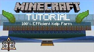 [Tutorial] 100% Efficient and Lossless Kelp Farm
