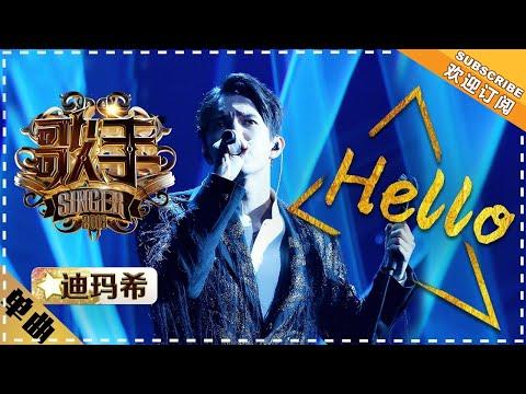 Dimash《Hello》- Singer 2018 EP14 【Singer Official Channel】