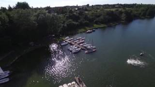 DJI Ispire 1 v2.0 9.5 km flight over Kiekrz lake in Poznan