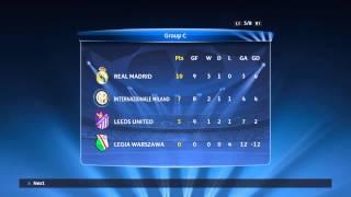 PES 2015 Master League Season 5 - Champions League Group Table