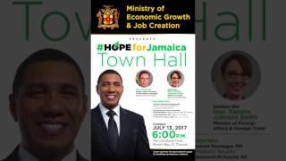 ST  Thomas Town Hall Promo - July 10, 2017