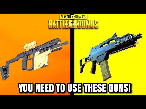 Top  BEST GUNS IN PUBG RIGHT NOW! ( Updated)