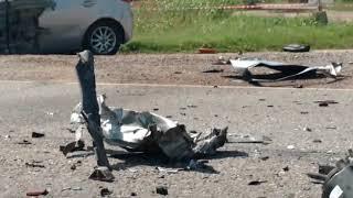Accidente fatal en la Ruta 19, en el ingreso a Montecristo