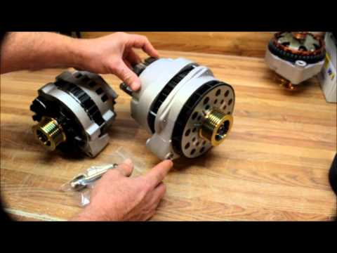 200 amp CS144 Dual Rectifier Alternator Chevy Suburban High Output Alternator