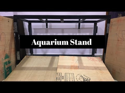 HOW TO :- Build an Aquarium Stand | Part - 1 | IN HINDI