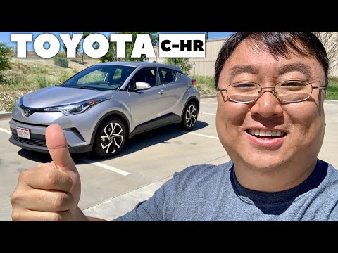 Why I Love the 2019 Toyota C-HR Crossover!