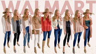 HUGE Walmart Clothing Try On Haul | Fall Outfits and Workwear (Under $40)
