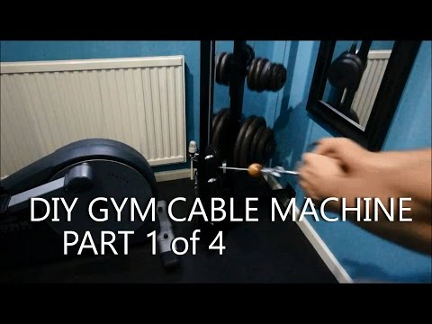 DIY Gym Cable Machine – Full Build Log – Part 1of4