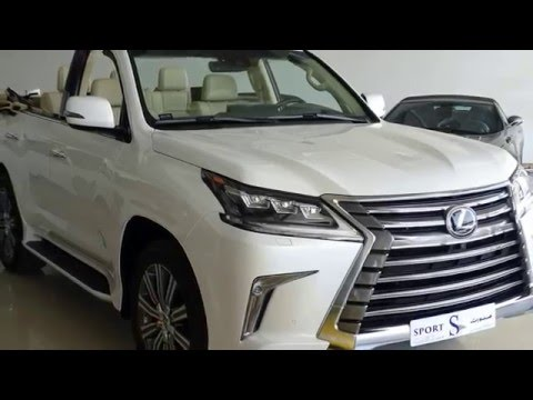 LEXUS  LX-570 Convertible SUV 2016 for sale in Dubai www.uaesale.com