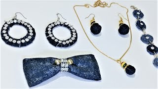 5 Awesome Jewelry Making Ideas From Old Jeans | Old Cloth Reuse Ideas
