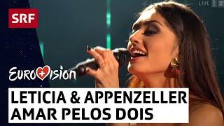 Leticia und Appenzeller Sängerfreunde - Showact - «Amar Pelos Dois» - #srfesc