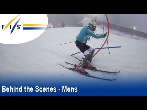 Zagreb Snow Queen Ski Trophy - AUDI FIS Ski Wolrd Cup Men Slalom 2012 - Behind the scenes - Mens
