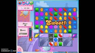 Candy Crush level 394 Audio Talkthrough, 1 Star 0 Boosters