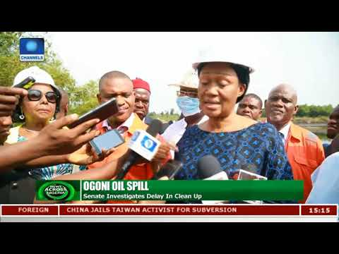Senate Investigates Delay In Ogoni Oil Spill Clean Up |News Across Nigeria|
