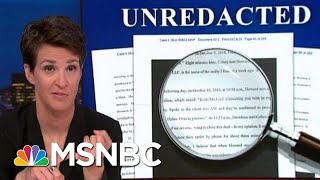 President Donald Trump Campaign Hush Money Scam Appears To Have Worked | Rachel Maddow | MSNBC