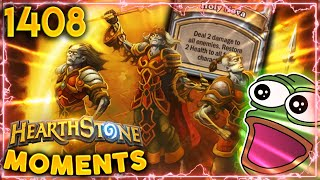 The HOLIEST HOLY NOVA Of All! | Hearthstone Daily Moments Ep.1408
