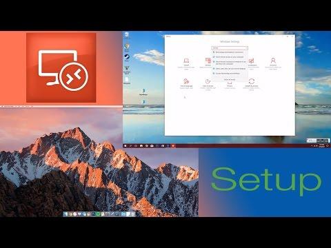 Microsoft Remote Desktop Setup