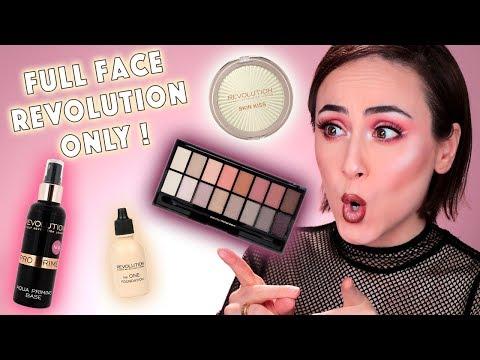 Full Face Using Only REVOLUTION 💥 | Drogerie One Brand Look Makeup REVOLUTION | Hatice Schmidt