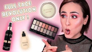 Full Face Using Only REVOLUTION 💥 | Drogerie One Brand Look Makeup REVOLUTION | Hatice Schmidt