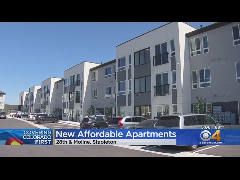 Affordable Housing Complex Complete In Stapleton Youtube