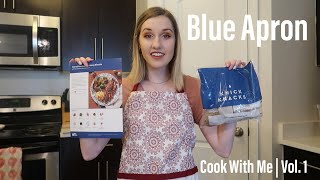 Blue Apron | Cook With Me | Seared Steaks & Hot Honey Biscuits | Vol. 1