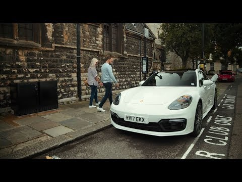 Not your everyday car share: Porsche Panamera 4 E-Hybrid meets Zipcar in London