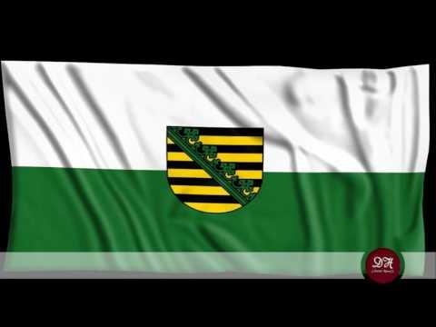 Landeshymne Sachsen - Anthem of federal state Saxony