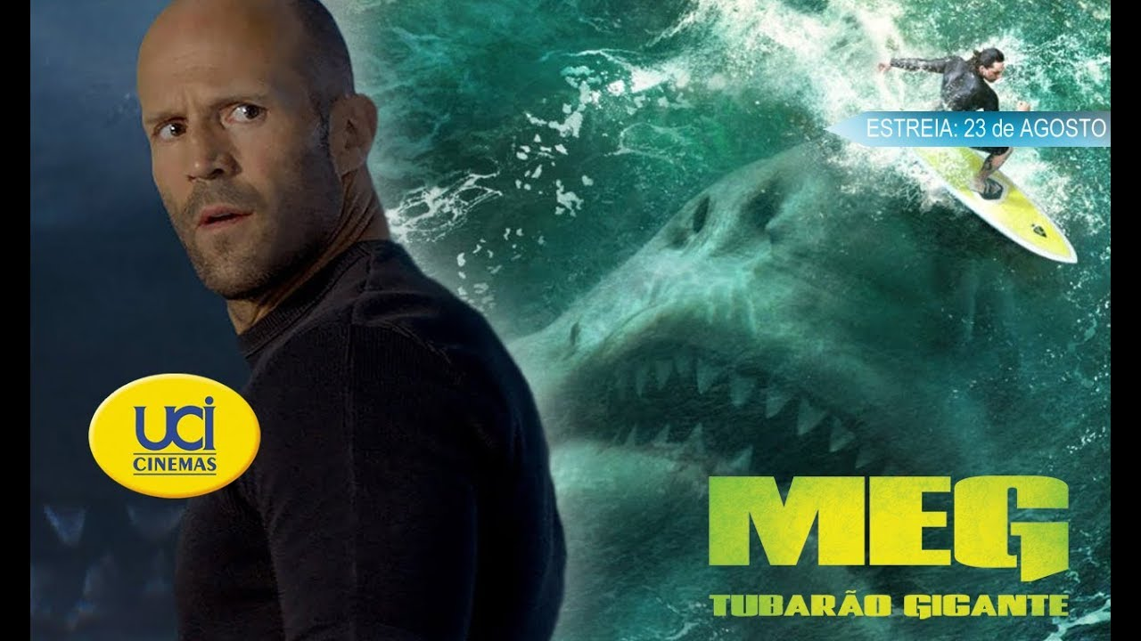 Meg Tubarao Gigante Trailer Oficial Uci Cinemas Youtube