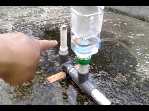Ram Pump Sederhana Pompa Air Tanpa Listrik Dan Bbm 2of2 Youtube