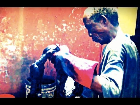 Nigeria Fashion: how to make Yoruba Tie-and-Dye cloth (Real-life Yoruba Movies)