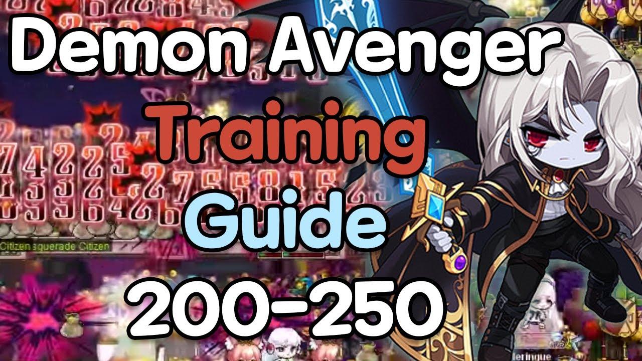 Demon Avenger Training Guide 200 - 250