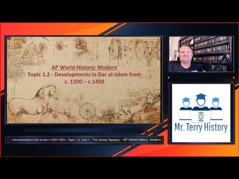 Topic 1.2 - Developments In Dar Al-Islam (1200-1450)   AP World History: Modern