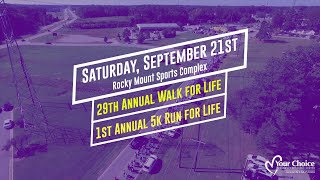 YCRC Walk/Run for Life | Promo