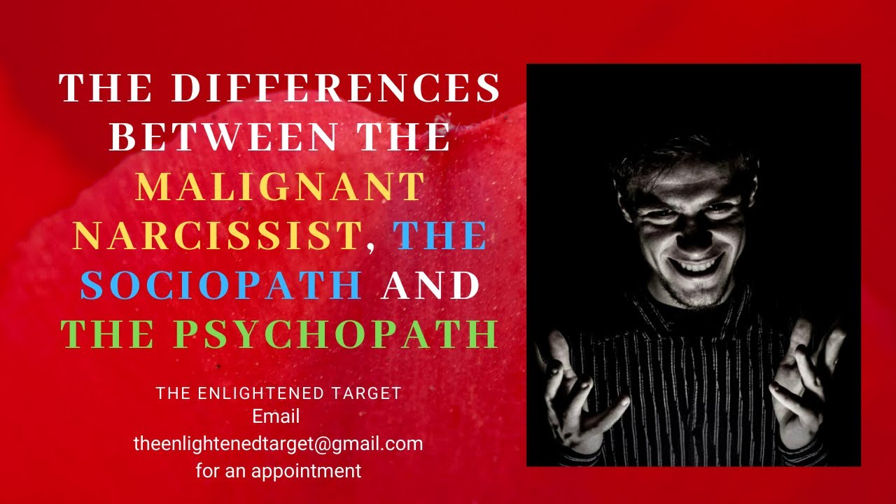 Sociopath a what is narcissistic Beware the