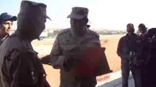 درع كلية الدفاع الوطنى للعميد أركان حرب طارق حافظ مدير أمن قناة السويس الجديدة