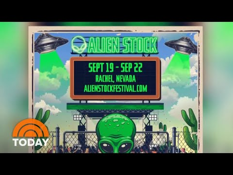 Alienstock? Man Behind Viral Area 51 Event Planning Music Fest | TODAY Mp3