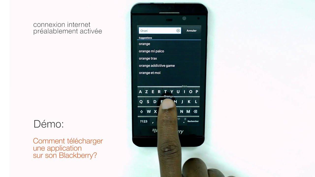 comment t l charger une application sur son blackberry youtube. Black Bedroom Furniture Sets. Home Design Ideas