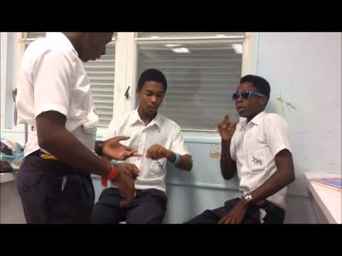 Grand Cayman Stupid Times at School(M.J Swag boys)