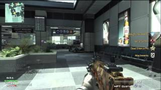 Modern Warfare 3: Team Deathmatch Gameplay on Terminal