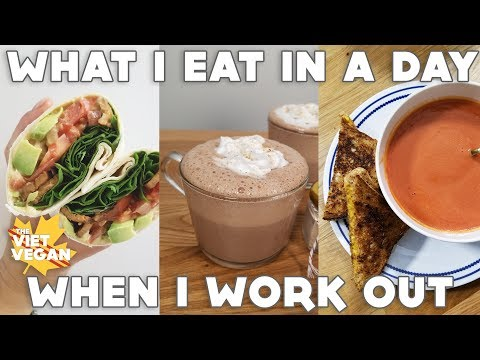 What I Eat In A Day When I Work Out + New Blender!