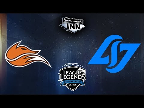 FOX vs CLG - NA LCS Spring Split 2018 | W8D2 [GER]