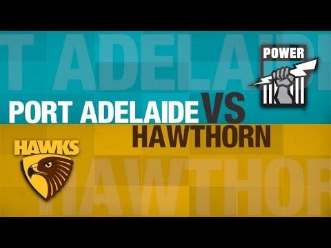 AFL Evolution | Hawks Career Season 2 vs Port Adelaide [JLT]