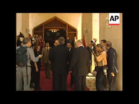 British prime minister arrives for talks with new Iraqi prime minister