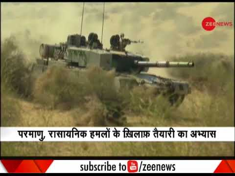 Vijay Prahar: Indian Army practices fighting in nuclear weapon environment