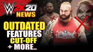 WWE 2K20 OUTDATED FEATURES ON RELEASE, Cut-Off Date, Shoot For NEW MODE! - #WWE2K20 News