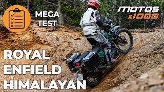 MEGA TEST Royal Enfield Himalayan 2021   Motosx1000