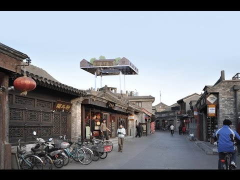 MVRDV envisions the future of the hutong at beijing design week 2015