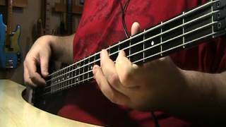 The Bee Gees Massachusetts Live Bass Cover