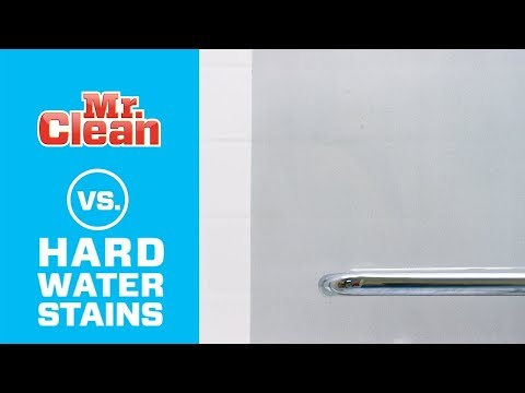 How to Remove Hard Water Stains | Mr. Clean®