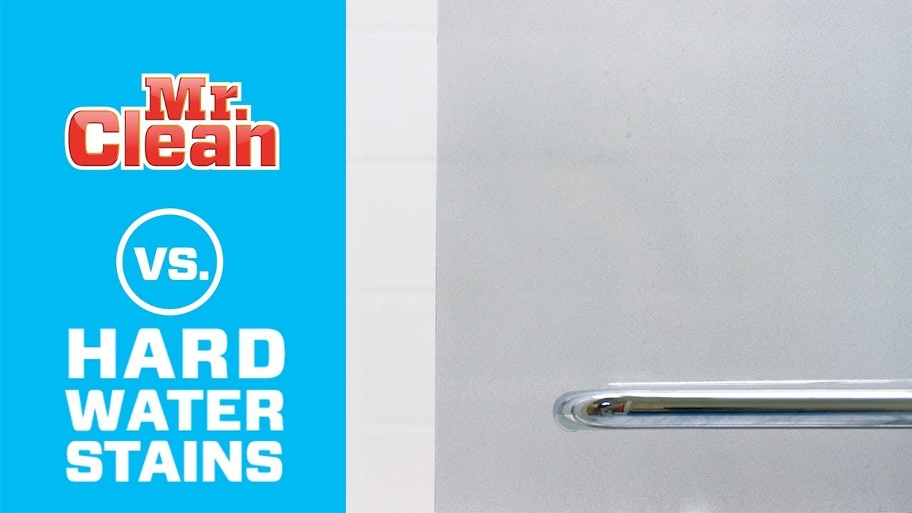 How to Remove Hard Water Stains | Mr. Clean® - YouTube